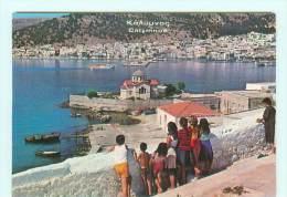 CALYMNOS ISLAND / Port , Animée - Greece