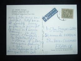 CP PAR AVION POUR LA FRANCE TP 2,50 ESC. OBL. 11.7.? - 1910-... République