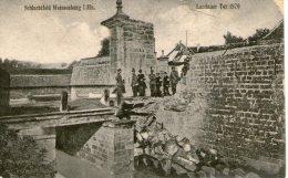 67.WISSEMBOURG.....GUER RE 1914/1918.....CPA...LANDANER TUR 1870...NON ECRITE......LOT M503 - Wissembourg