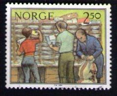 NORVEGE Oblitéré Used Stamp Le Tri Postal 1984 - Norway