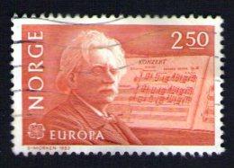 NORVEGE Oblitéré Used Stamp Musique Classique 1983 - Norvège