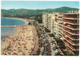 CPM FRANCE 06 ALPES MARITIMES JUAN LES PINS - L'Avenue Guillaumont Et La Plage - 1972 - Juan-les-Pins