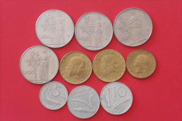 ITALY        10 Coins   -    (Nº03920) - Monedas & Billetes