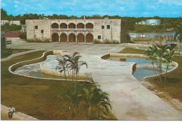 REPUBLIQUE DOMINICAINE - SANTO DOMINGO - ALCAZAR DE COLON - Postkaarten