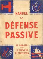 Manuel De Défense Passive - Oude Documenten