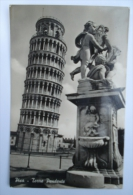 PISA TORRE PENDENTE CAPITELLO  - Targhetta FP  VIAGGIATA  (tos2275 - Pisa