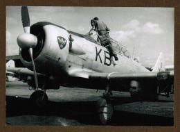 "Grande Photo Avion T ( Insigne ""couronne Galon"" ) - Aviation"