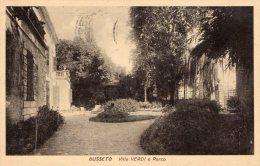 [DC7329] BUSSETO (PARMA) - VILLA VERDI E PARCO - Viaggiata 1957 - Old Postcard - Parma