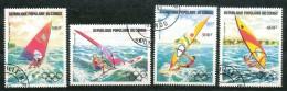Kongo-Brazzaville  - Mi.Nr  . 917 - 920     -gestempelt - Kongo - Brazzaville