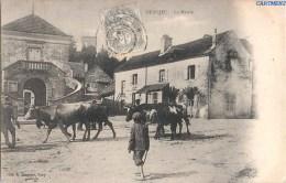BEAUJEU LA MAIRIE ANIMEE VACHES 70 HAUTE-SAONE 1900 - Frankrijk