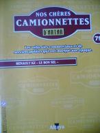 """COLLECTION REVUE N° 79 -  NOS CHERES CAMIONNETTES D'ANTAN - RENAULT KZ """"LE BON SEL"""" - Auto/Moto"""