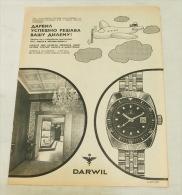 DARWIL  SUISSE  Watch Montre Uhren - Belgrade (Serbia) - Montres Publicitaires