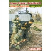 - DRAGON  - Figurines Panzer Pionier Bataillon 37 Leningrad 1941  - 1/35°- Réf 6651 - Beeldjes