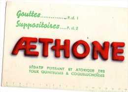 BUVARD   AETHONE - Produits Pharmaceutiques