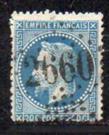 N°29 - OBLITERATION  GC2660  NIORT  75 - 1863-1870 Napoléon III Lauré