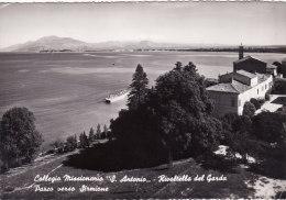"RIVOLTELLA  /   Collegio Missionario  "" S. Antonio ""   _  Parco Verso Sirmione - Brescia"