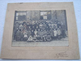 Ancienne PHOTO DE CLASSE De Garçons - ST-POL-SUR-MER (déb. 1900). - Non Classés