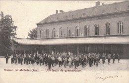 Cpa/pk 1904 Melle Maison De Melle-lez-Gand Une Leçon De Gymnastique - Melle