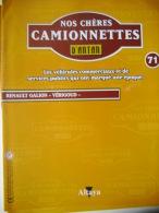 """REVUE NOS CHERES CAMIONNETTES D'ANTAN N° 71 - RENAULT GALION """"VERIGOUD"""" - Auto/Moto"""