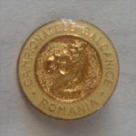 Badge / Pin (Equestrianism / Horseback Riding) - Romania Balkan Championship - Badges