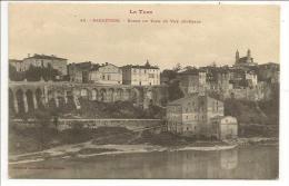 81 - Le Tarn - RABASTENS - Bords Du Tarn Et Vue Générale- Phototypie Labouche N° 46 - 1907 - Rabastens