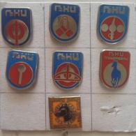 Badge / Pin (Equestrianism / Horseback Riding) - Yugoslavia Pozarevac Ljubicevac Games (LjKI) - Badges