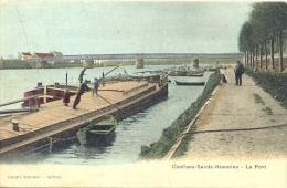 CPA CONFLANS SAINTE HONORINE - LE PONT - Conflans Saint Honorine