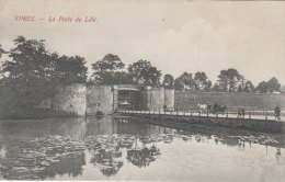 Cpa/pk 1905 Ieper Ypres Yper La Porte De Lille Van Den Heuvel - Ieper