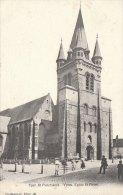 Cpa/pk 1905 Ieper Ypres Yper St Pietrerskerk Eglise St Pierre Callewaert - Ieper