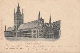 Cpa/pk 1901 Ieper Ypres Yper Les Halles Nuyten De Brauwer - Ieper