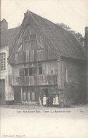 Cpa/pk 1905 Ieper Ypres Yper Het Houten Huis La Maison De Bois  Callewaert - Ieper