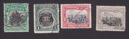 Mozambique Company, Scott #134, 142, 144-145, Used, Scenes Of Mozambique, Issued 1918-31 - Mozambique