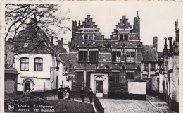 BELGIQUE EN 1947,BELGIE,3 Timbres,COURTRAI,KORTRIJK ,CORTRYCK,prés Lille,béguinage,het Begijnhof,femme Du Village - Kortrijk