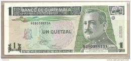 Guatemala - Banconota QFDS Da 1 Quetzal - 1995 - Guatemala