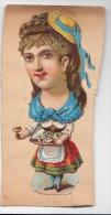 "C1900   2 ANTICHE FIGURINA UMORISTICHE INGLESI "" - Vieux Papiers"