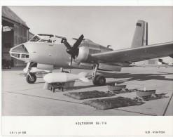 PHOTO 25X20 ORIGINALE / AVION VOLTIGEUR SE116 - Aviation