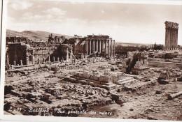 Liban - Archéologie - Baalbeck -  Ruines Temple