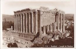 Liban - Archéologie - Baalbeck -  Ruines Temple Bacchus
