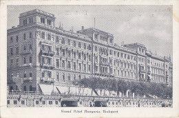 Hongrie - Budapest - Grand Hotel Hungaria - Hungary