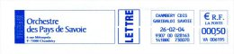 Orchestre Du Pays De Savoie - EMA Havas Sur Env. Entière 2004 - Muziek
