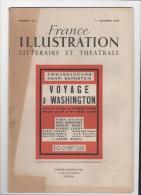 AMBASSADEURS HENRI BERNSTEIN VOYAGE A WASHINGTON 1948 - Theater