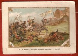 IMAGE 8,5 X 12,5  JEANNE D'ARC DELIVRE ORLEANS . N° 5 . Jeanne D'Arc Attaque Le Fort Des Tournelles . 7 Mai 1422 - Histoire