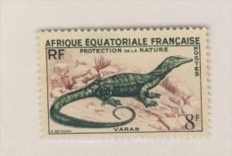 AEF 1955 VARAN  YVERT  N°231   NEUF MNH** - Reptiles & Batraciens