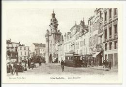 LA ROCHELLE , Quai Duperré , Reproduction D´une CPA - La Rochelle