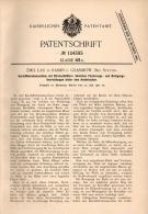 Original Patentschrift - Emil Lau In Ramin B. Grambow I. Meckl., 1900 , Kartoffel - Erntemaschine , Löcknitz , Penkun !! - Maschinen