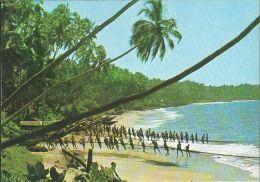 Sri Lanka - Coast Line - Drag Net-Fishing - 2x Nice Stamps - Sri Lanka (Ceylon)