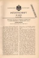 Original Patentschrift -H. Haberland In Groß Wegenitz B. Seehausen I. Altm., 1900 , Kartoffel - Erntemaschine , Agrar !! - Maschinen