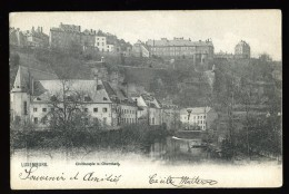 Cpa Du Luxembourg Luxemburg  Civilhospiz U. Oberstadt    THO15 - Luxembourg - Ville