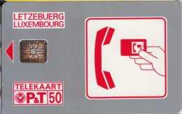 Luxembourg Letzebuerg : Telekaart P&T 50 - Luxembourg