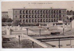 REF 153 : CPA Tunisie Tunis Caserne De La Kasbah - Tunisia